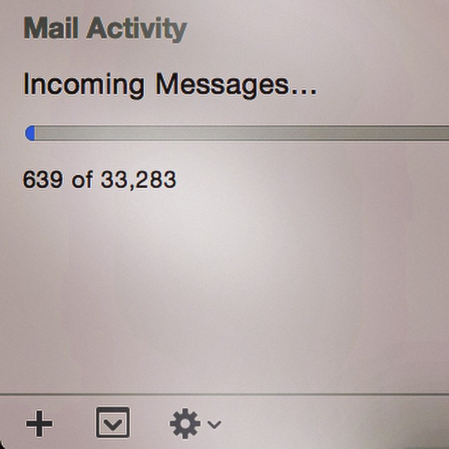 I'm gonna need some coffee .. And another plan.  #mail #spam #saturdayplans