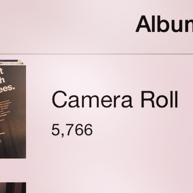 Yay. #cameraroll is back #ios8.1 #ios #camera #apple