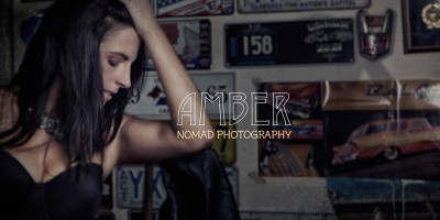 AmBeR with Amy Wallace shot by Thierry for Australian Photo